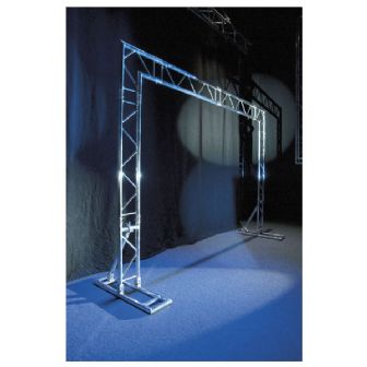 Showtec Mobile DJ Truss Stand | Lighthouse Audiovisual UK